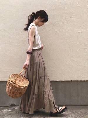 【ユニクロ】大人の「夏コーデ」3