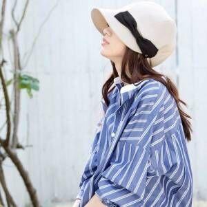 可愛くオシャレな日差し対策☆夏の「帽子コーデ」をご紹介します
