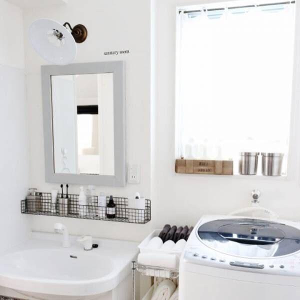 賃貸でも古くてもインテリアを諦めない!「ユニット洗面台」のリメイクアイデア♡