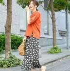 この夏トレンドカラー☆オレンジを大人女子コーデにも取り入れよう