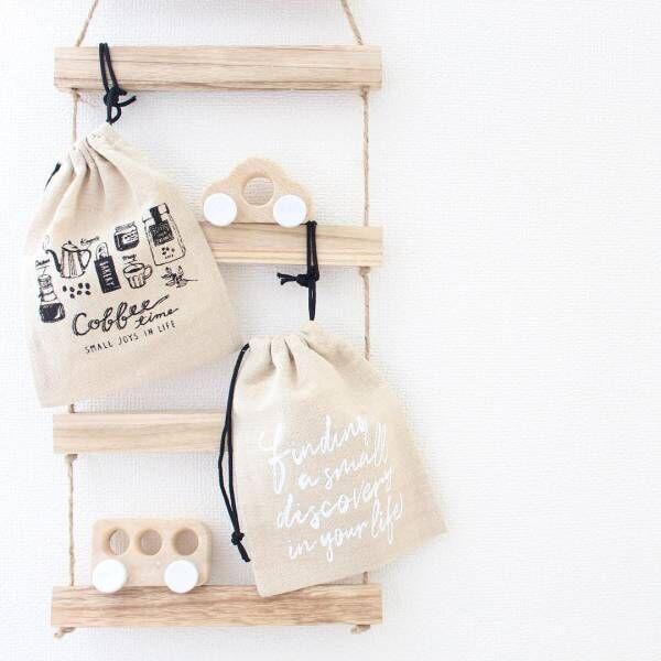 【セリアetc.】のデザインが豊富な巾着♡小物整理やおでかけバッグにぴったり