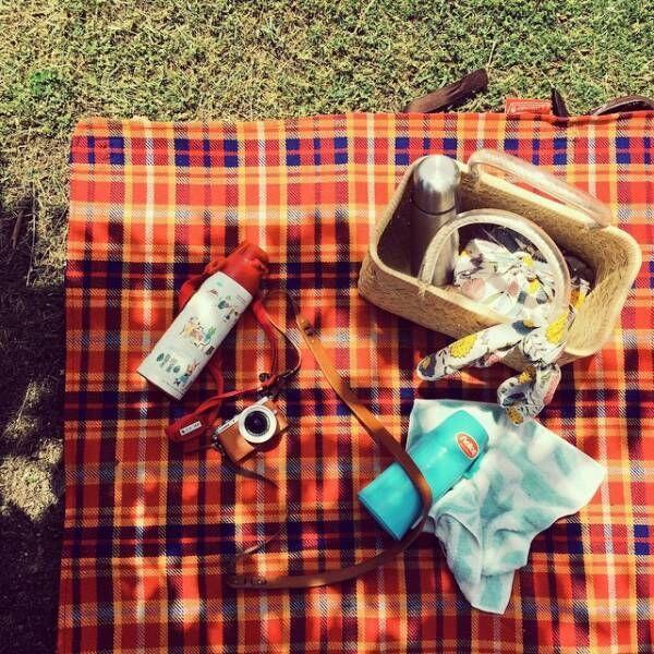 おしゃれなピクニックマット