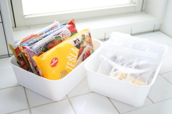 【連載】何が入っているのか分からないを無くす!《セリア》商品で冷凍庫の見える化収納