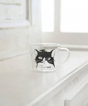 [Afternoon Tea LIVING] アニマル柄耐熱ガラスマグカップ