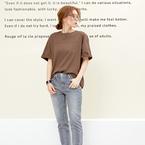 カラー別にチェックしよう!野暮ったくならない大人の「Tシャツコーデ」15選☆