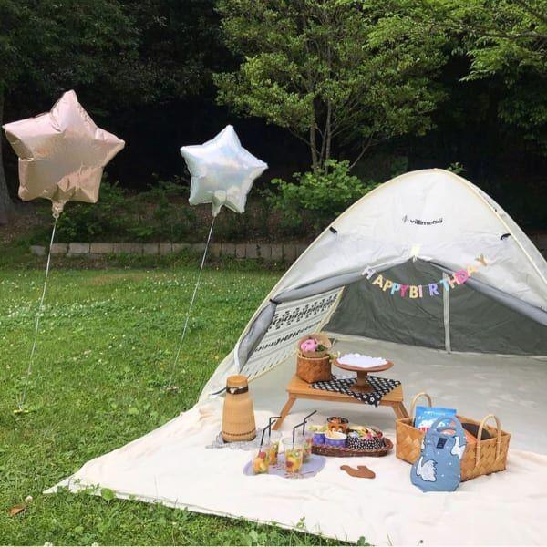 ピクニック テント
