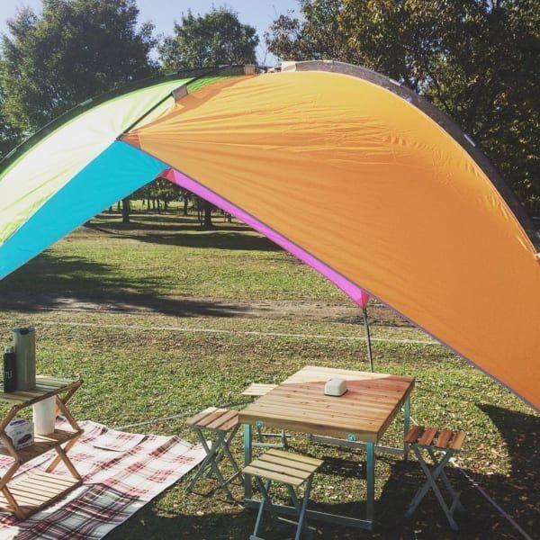 ピクニック テント3