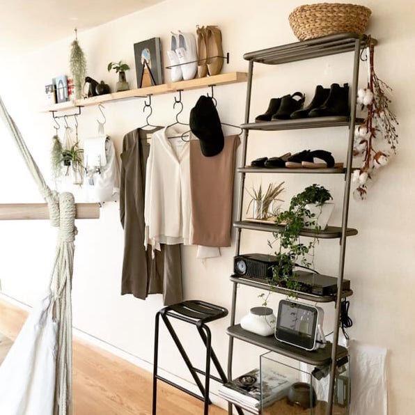 空間を上手に利用する!吊るす・引っ掛けでつくる使いやすい収納アイデア