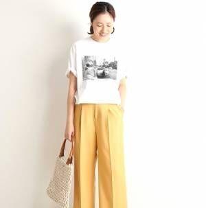 コーデをアップデート♡「カラーボトム」で楽しむ大人の夏スタイル