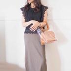一番使える!【ユニクロ】のリブタイトロングスカートで作る大人女子コーデ集♡