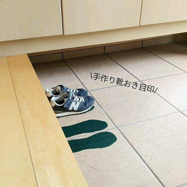 「靴」の散らかり防止アイデア2