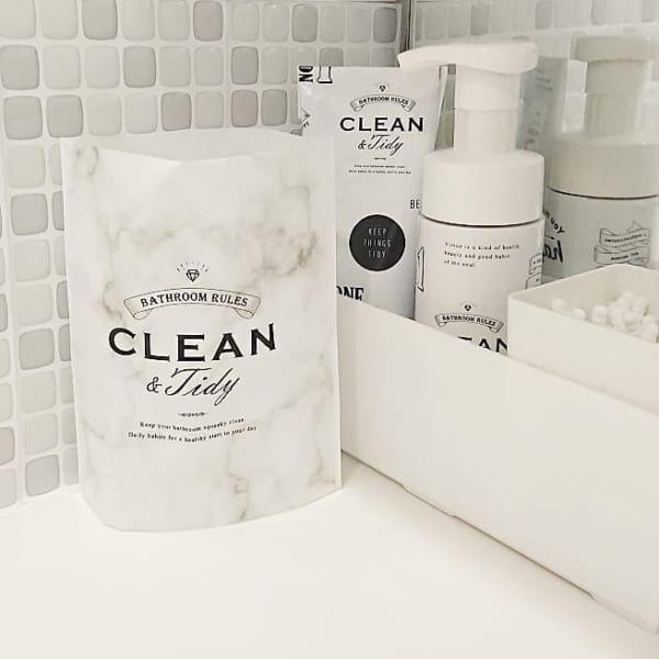 自立する洗面台用のゴミ袋