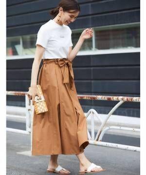 [tocco closet] 【S size collection】ベルトタックフレアスカート