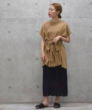 [w closet] 7Gニットスカート