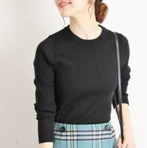『黒トップス』で秋ボトムスを着まわす♡大人女子の最新秋スタイル