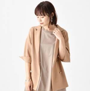 秋まで使える!おしゃれな大人女子のジャケット羽織りスタイル♡