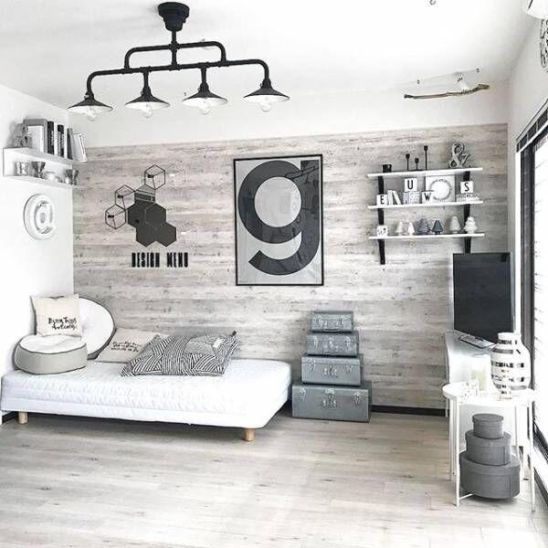 壁面インテリアでお部屋は変わる!完コピしたくなるおしゃれな実例をご紹介