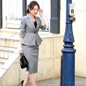 オフィスコーデの鉄板!セットアップを大人女子らしく着こなそう♪