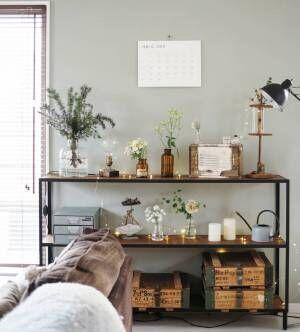 ボタニカルMIXインテリア♡お部屋に心地よいムードをプラスして快適空間を実現!