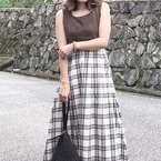【GU】のスカートで作る大人可愛いスタイル集☆スカート派さん必見!