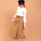 秋の「スカートコーデ」15選◆女っぽさを引き出す着こなし術