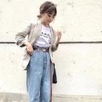 【ZARAetc.】のジャケットで秋コーデ!大人女子のきちんと感をGET♪