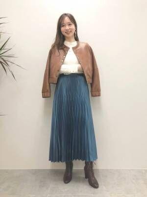 [JILLSTUART] アンドレアランダムプリーツスカート2