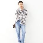 秋らしさがぐんとUP♡《チェックシャツ》のトレンドスタイルをチェック!