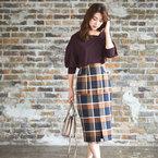 季節感も女っぽさも叶う◎秋にぴったりのスカートコーデ15選をまとめてお届け♡