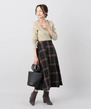 [JOINT WORKS] フロントボタン サキゾメスカート