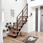 シンプルな空間にチャームポイント!階段インテリアで叶える自分らしさ♪
