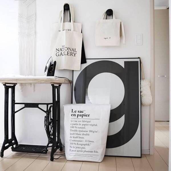 米袋をリメイクしてストレージバッグを作ろう☆リメイク術や収納方法ご紹介