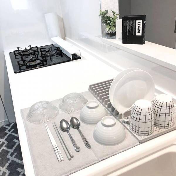 食器洗いをもっと快適に!シンク周りをスッキリさせる工夫でラク家事しよう
