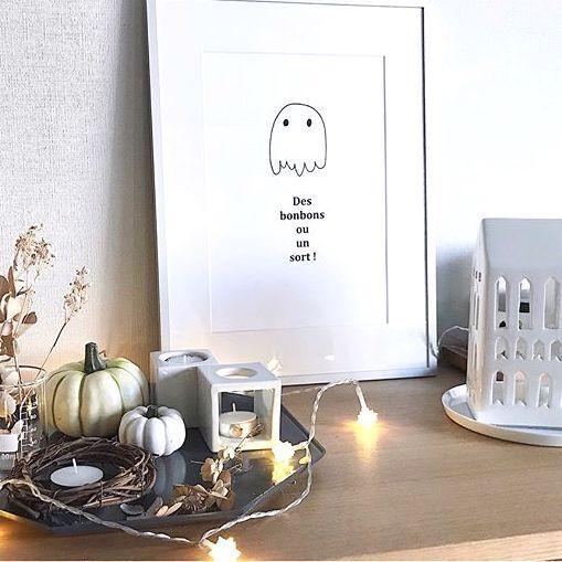 秋の一大イベント★現代風ハロウィンインテリアをお家で楽しもう♪