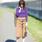 スカートで大人の秋コーデ♡「女っぽさ」も「季節感」もある着こなし術♡