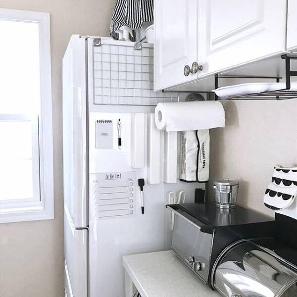 冷蔵庫の横ってどうしてる?目からウロコな「デッドスペース」の有効活用術☆