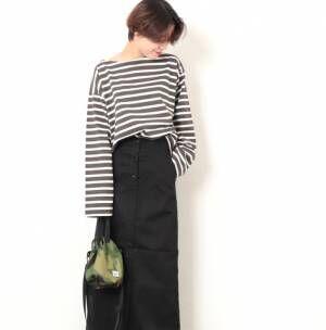 今年の秋冬はロングタイトスカートで♡女っぷりをあげるコーデをご紹介!