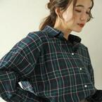 季節感GET!プチプラチェックシャツで作る大人女子コーデ特集♪