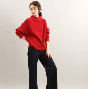 秋に映える「赤コーデ」15選◆秋らしく赤で着映する着こなし術!