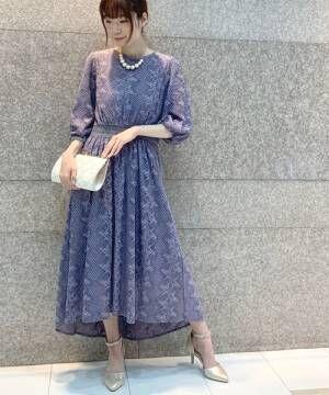 [Paradise Picnic] 【KATHARINE ROSS】リーフバスケット柄テール結婚式ドレス