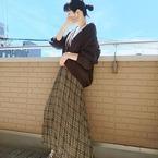 【GU】スカートでおしゃれ上級者♡秋の大人ガーリーコーデ特集!