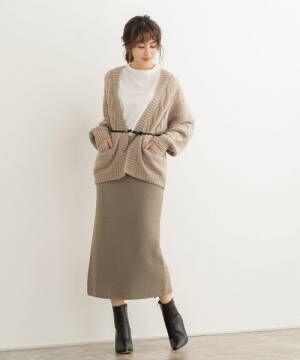 [Pierrot] ニットロングスカート