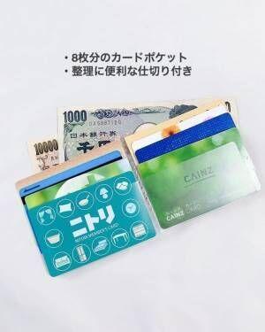 【キャンドゥ】長財布に入るカードホルダー