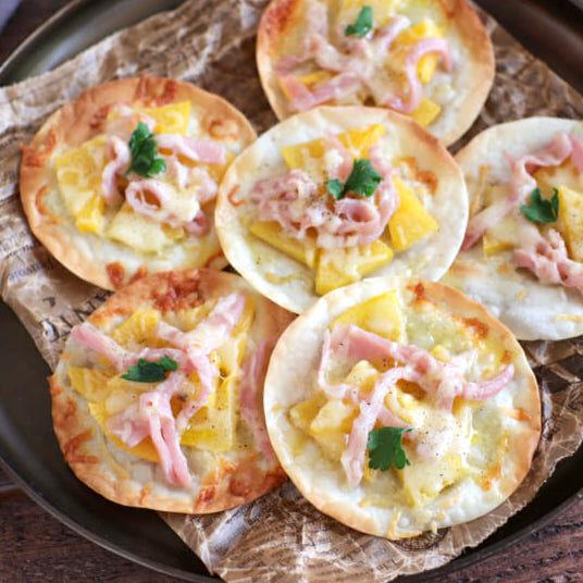 【連載】柿が美味しい季節!朝が嬉しくなる柿と生ハムのおつまみピザ