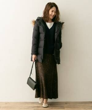 [URBAN RESEARCH ROSSO WOMEN] F by ROSSOファー付ロングダウンコート