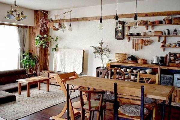 日本の「和」と「奥ゆかしさ」を感じさせる。古民家風のお部屋の作り方を紹介します