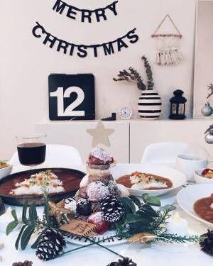クリスマスの素敵なテーブルシーン3