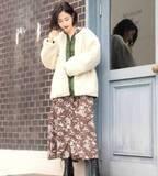 「ボア素材」のアウター♡大人っぽく着こなすためのお手本コーデ15選