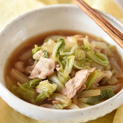 【連載】白菜の消費に♪冷凍作り置きできる♪豚バラと白菜のとろとろ煮