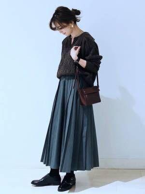 2[AMERICAN HOLIC] ロングプリーツスカート